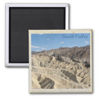 WoW, Death Valley Magnet! Square Magnet