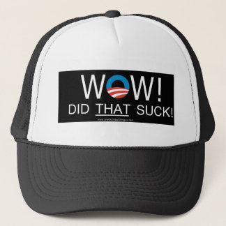 Wow! Did THAT Suck! Hats