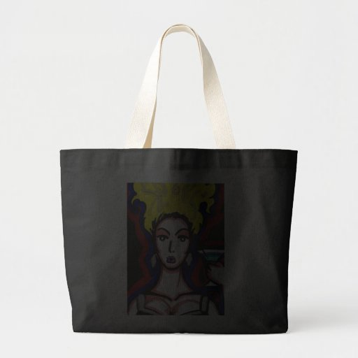 Wow Drink Large Tote Bag