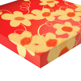 Wow Love Blossoms Canvas Print