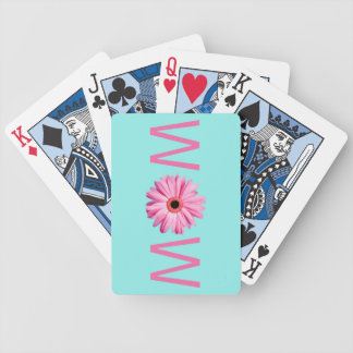 WOW MOM Cute Bicycle Playing Cards
