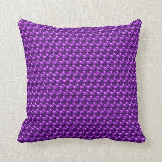 Wow Purple Throw Pillow