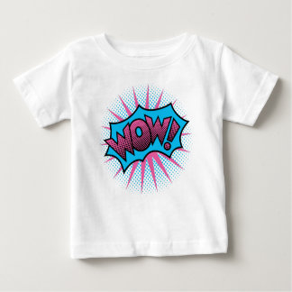 Wow Text Design Baby T-Shirt