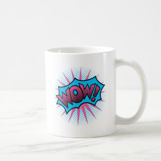 Wow Text Design Coffee Mug