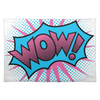WOW! Text Design Placemat