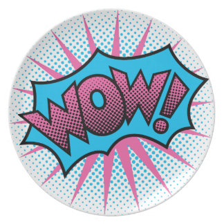 Wow Text Design Plate