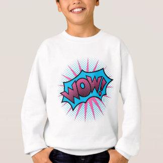 Wow Text Design Sweatshirt