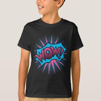 Wow Text Design T-Shirt