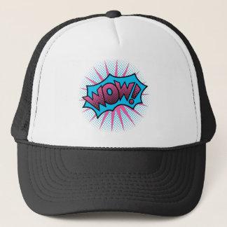 WOW! Text Design Trucker Hat