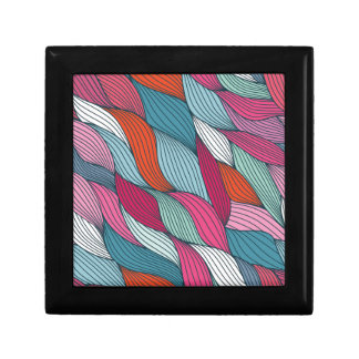 wowen colorfull pattern small square gift box