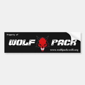 WP Property Bumpersticker Bumper Sticker