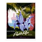 WPA - Discover Puerto Rico Postcard