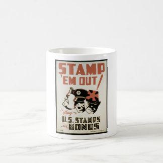 WPA War II Propaganda Coffee Mug