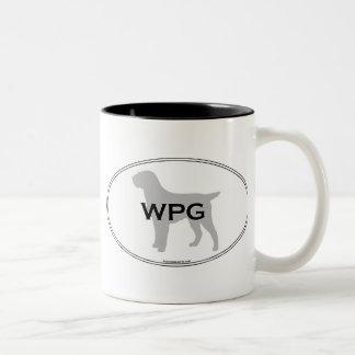 WPG Oval Two-Tone Coffee Mug