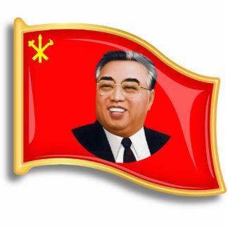 WPK Flag Photo Sculpture Badge