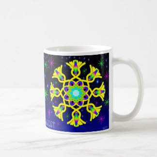 WQ Kaleidoscope Coffee Cup for Yellow Lovers.