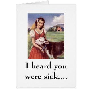 WR306086, I heard you were sick.... Card