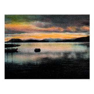 Wrangell Bay, Alaska Vintage Postcard