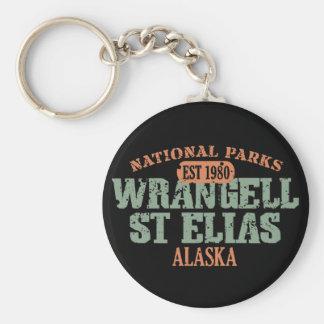 Wrangell St Elias National Park Key Ring