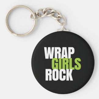 Wrap Girls Rock - It Works! Global Basic Round Button Key Ring