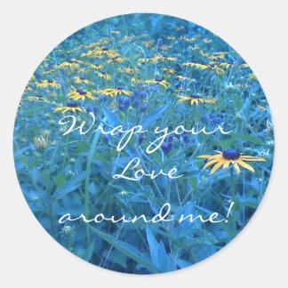 , Wrap yourLove around me! Round Sticker