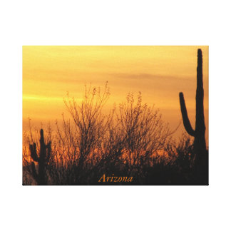 Wrapped Canvas--Arizona Sunset-3 Canvas Print