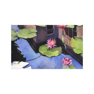 Wrapped canvas, Lilly Pads Gallery Wrapped Canvas