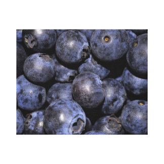 """Wrapped Canvas Photograph-""""Blueberries"""""""
