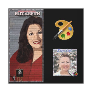 Wrapped Canvas:Portrait-Elizabeth Medina-Galleriao Canvas Print