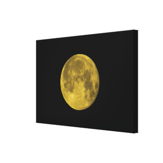 Wrapped Canvas The Moon