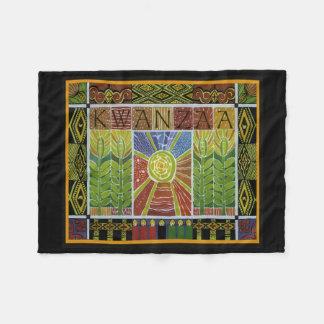 Wrapped In Kwanzaa Kwanzaa Fleece Blanket