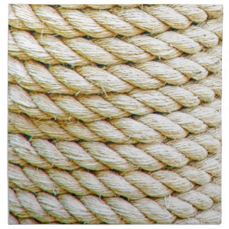 Wrapped rope napkin