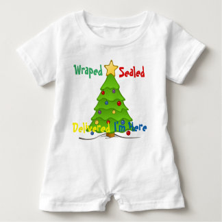 Wrapped Sealed Baby Romper Baby Bodysuit
