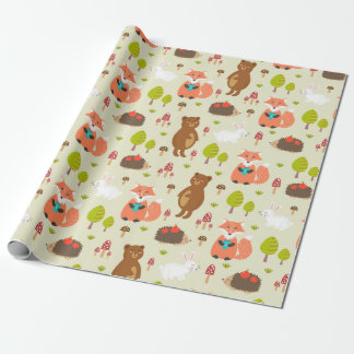 Wrapping Paper - Forest Friends