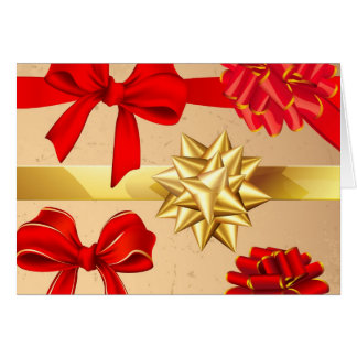 Wrapping Paper Greeting Card