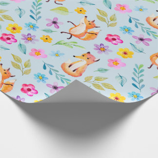 Wrapping Paper - Happy Mr. Fox