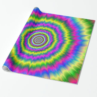 Wrapping Paper  Neon Explosion