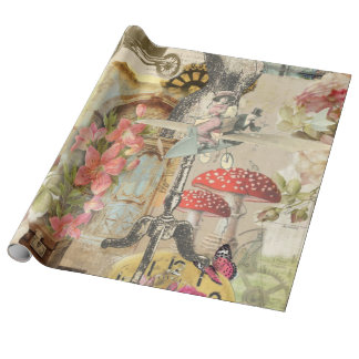 wrapping paper whimsical
