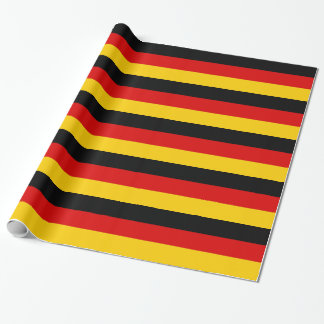 Wrapping paper with Flag of Germany