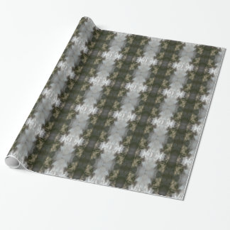 Wrapping Paper with Frosted Abstract Desing
