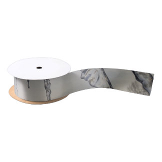 Wrapping. Satin Ribbon