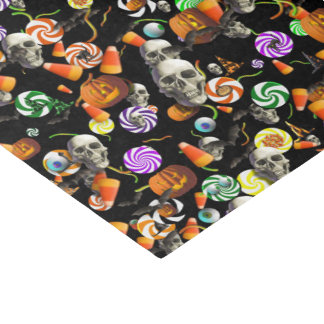 Wrapping Tissue - Creepy Halloween Confetti Tissue Paper