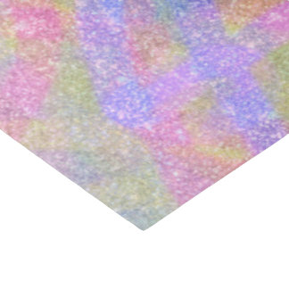 Wrapping Tissue - Sparkly Pastel Rainbow Tissue Paper