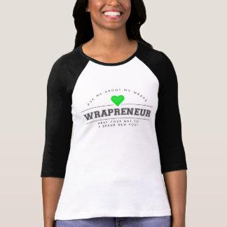 Wrapreneur Baseball Style Shirt