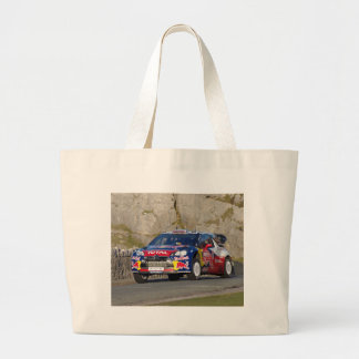WRC Rally Car Cover Jumbo Tote Bag