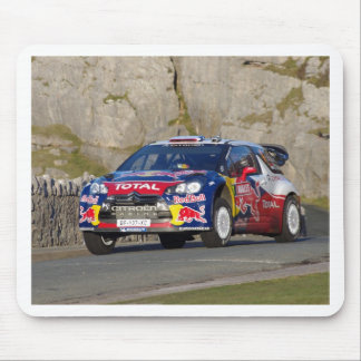 WRC Rally Car Cover Mouse Pad