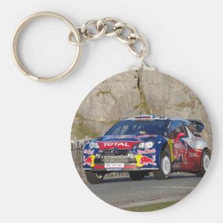 WRC Rally Car Key Ring