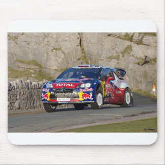 WRC Rally Car Mouse Pad