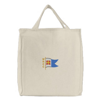 WRCC: tote bag (embroidered, large logo)