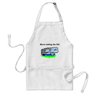 """W're taking the 5th"" apron"